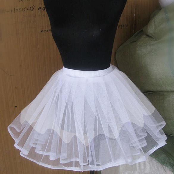 Beauty Underskirt Swing Pettiskirt Petticoat Rockabilly Tutu Net Skirt Pinup