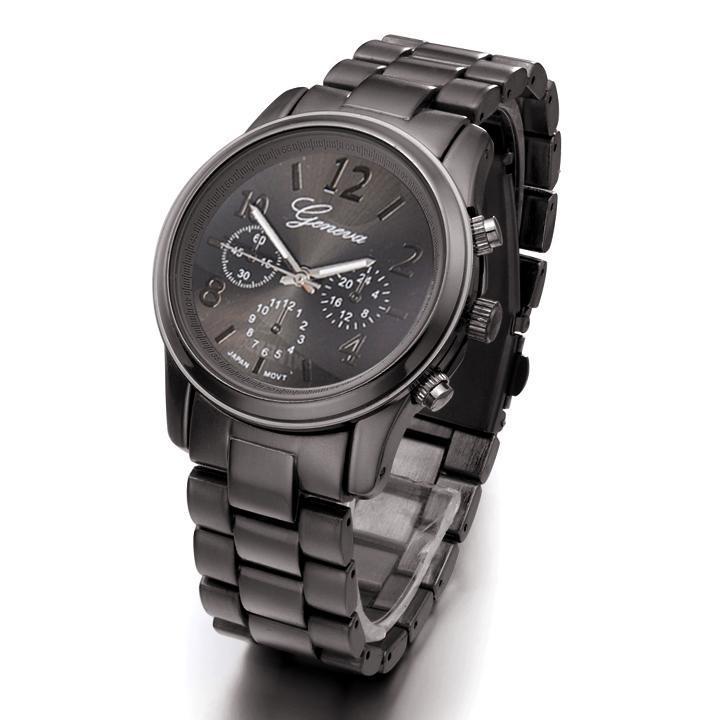Hot Sale Fashion Stainless Steel Lady Women's Analog Quartz Wrist Watches