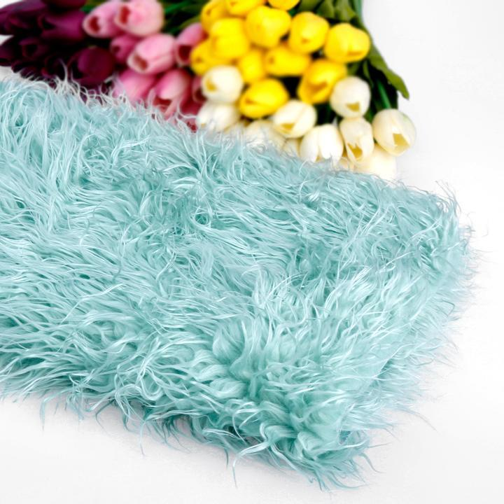 2015 Newborn Blanket Photography Props Background Blanket 100 x 50 cm Faux Fur