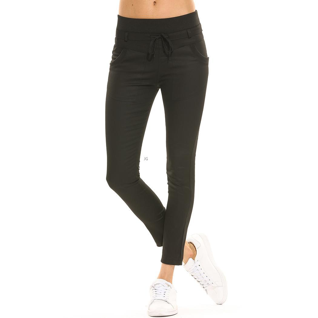 women casual sport dance harem slacks sweat pants jogging