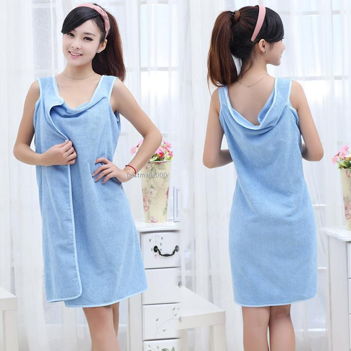 Zip Soft Microfiber Towel: Unisex Microfiber Towels Soft Bath Towel Bathrobe Bath