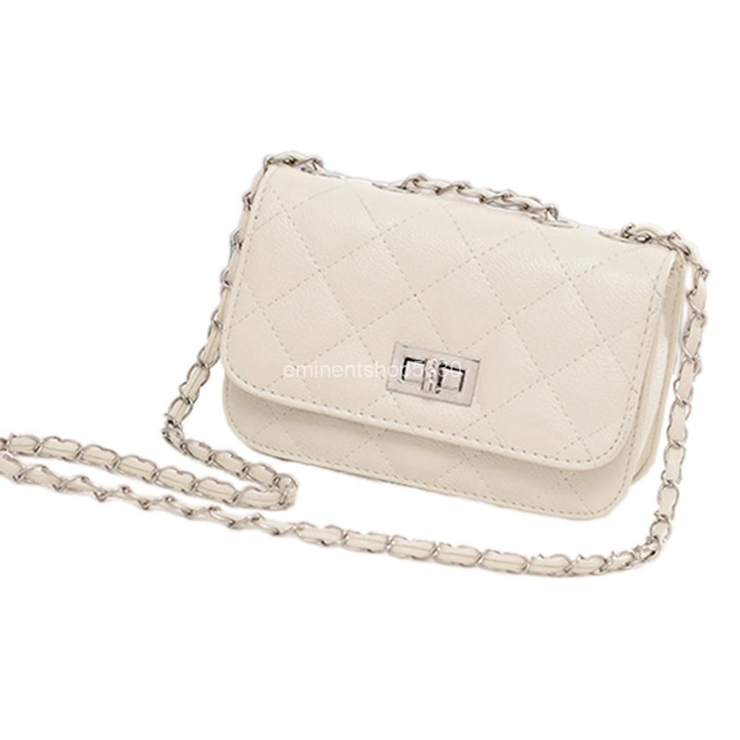 Fashion Women Shoulder Bag Quilting Chain Cross Body Korean Ladies Handbag LM