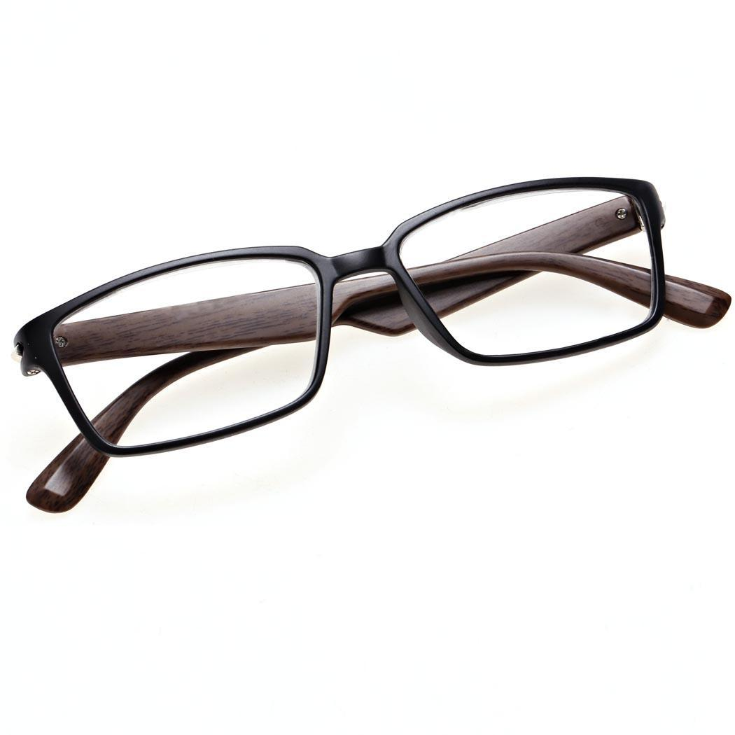 Plastic Frame Mens Womens Reading Glasses Readers +1.00 ...
