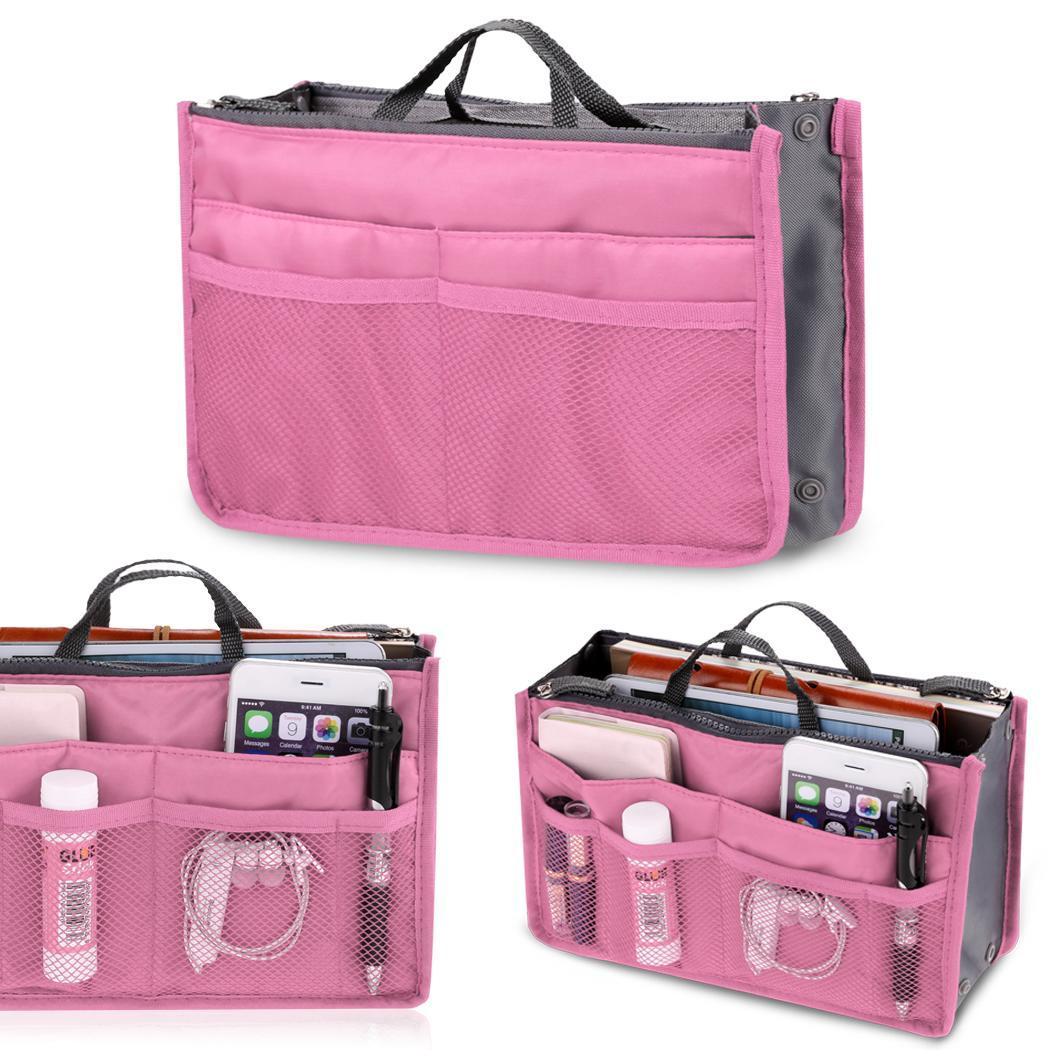 Multifunction Travel Cosmetic Makeup Insert Pouch Toiletry