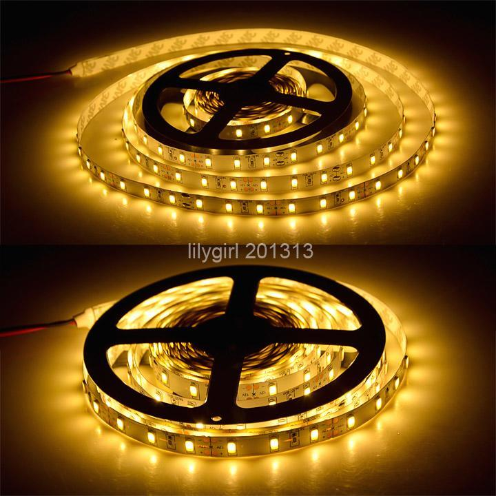 High Quality 300LEDs 5 Meter SMD 5630 Flexible LED Strip Light DC 12V