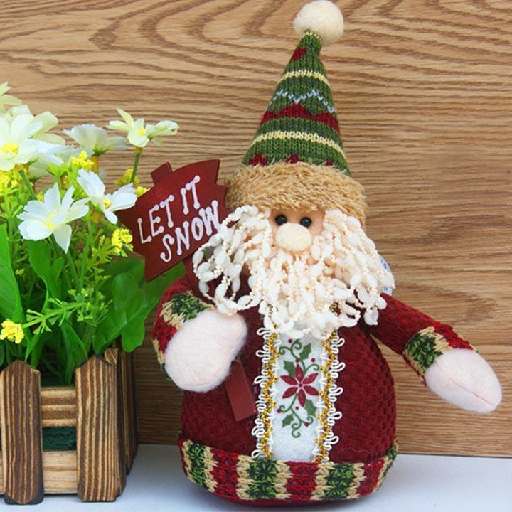 New Design Best Christmas Ornaments Gift Santa Claus Reindeer Christmas Snowman