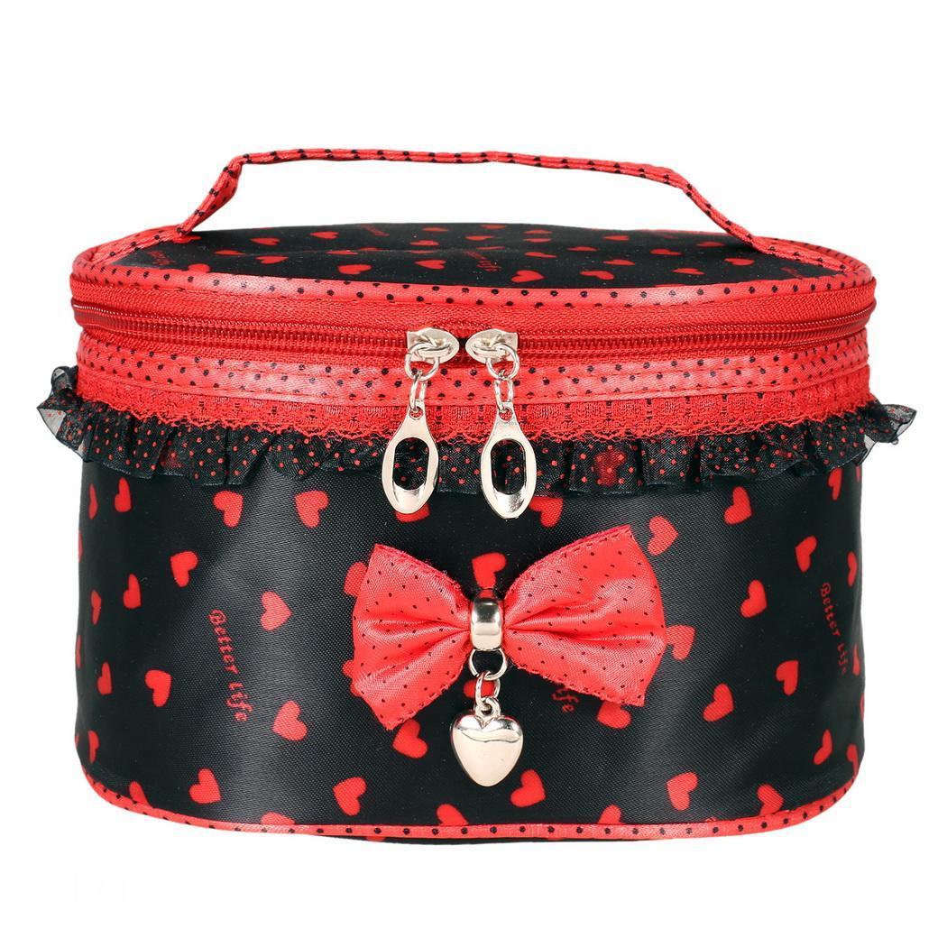 Fashion Lady Women Travel Makeup Beauty Storage Case Cosmetic Bag Organizer