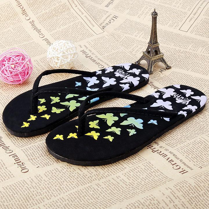 Hot Sale Women Lady Summer Flip Flops Outdoor Flat Sandals Beach 4 Colors New