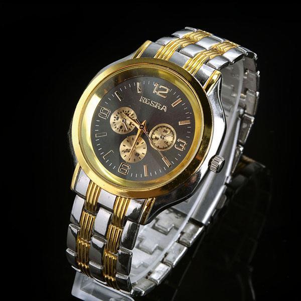 Hot Sell Fashion Analog Wristwatch Luxury Man's Busness Quartz Wrist Watches