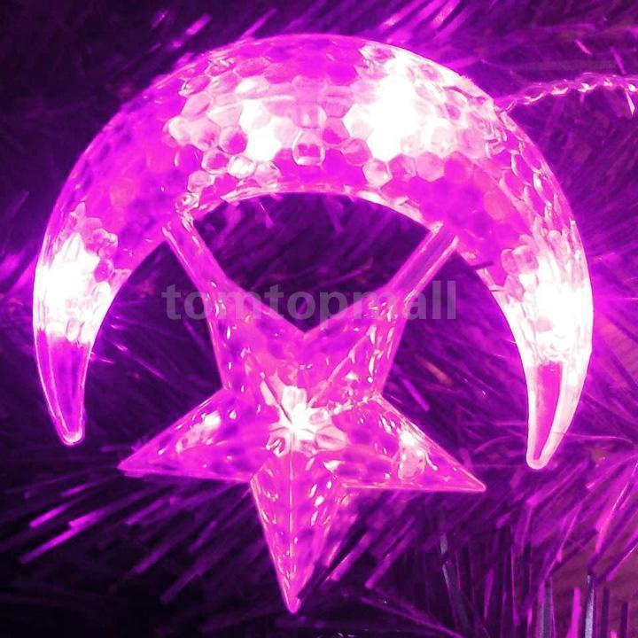 Fairy Moon Led String Lights : New 4M LED Moon Star Christmas Party Decor Bar Indoor String Fairy Curtain Light eBay