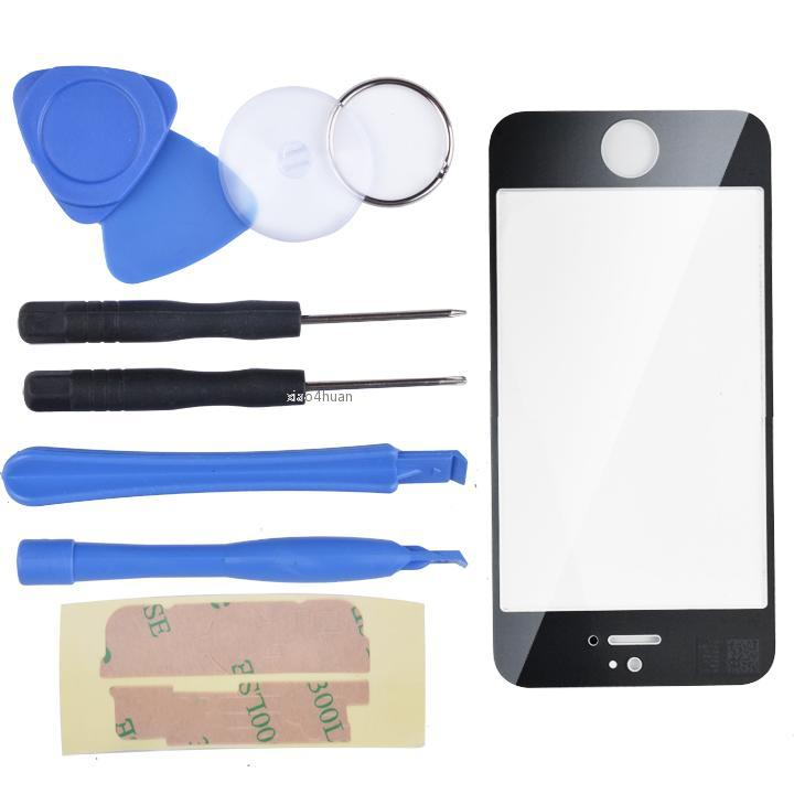 Replacement Touch Screen Digitizer & 7Pcs Remove Tools For iPhone4/4s AHH4