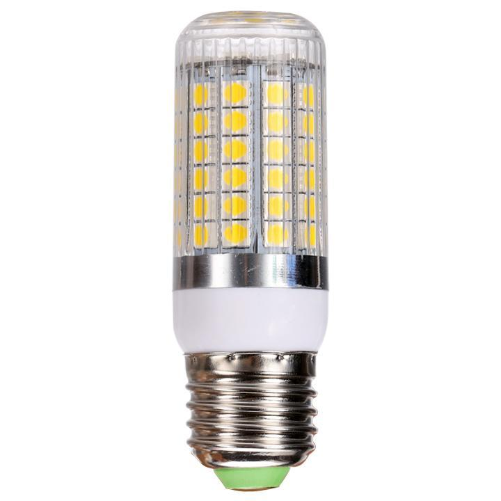 Energy Saving E27 15W 5050 SMD 69-LED White Light Bulb Lamp AC 220V 1100Lm